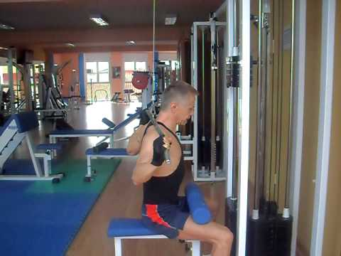 Polea trasnuca, Pulldowns Behind The Neck 1