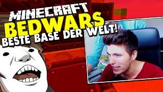 MYSTERIÖSER GAST & BESTE BASE DER WELT! ✪ Minecraft Bedwars Woche Tag 139 mit GLP & Mr. ???