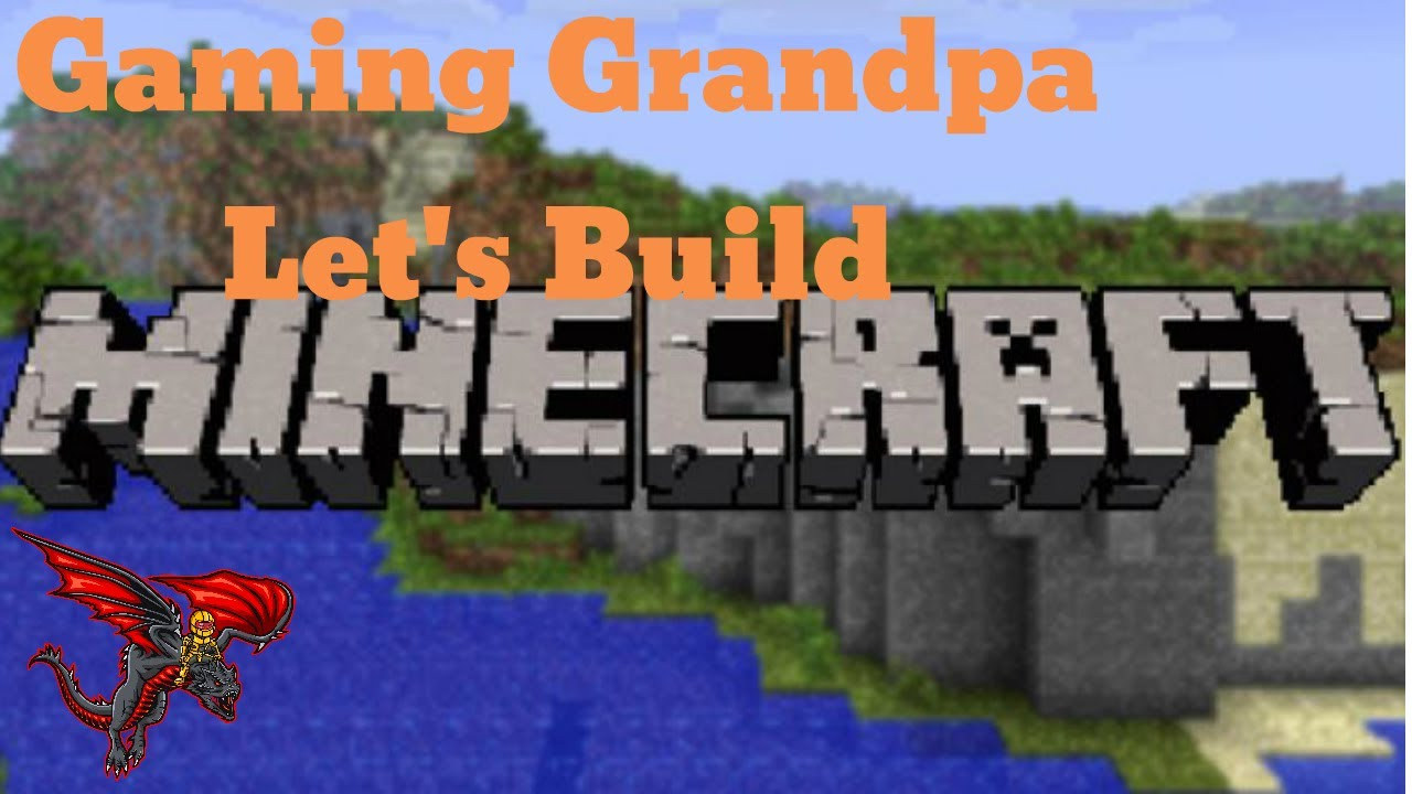 Minecraft Fun With Grandpa & Friends - Starting The GG Tribe