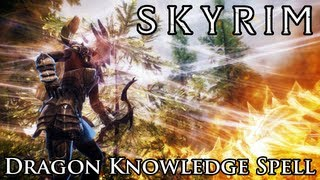 Skyrim Mod: Dragon Knowledge Spell(Thanks for watching our Skyrim Mod Spotlight! Skip-to buttons below! Like us on Facebook! http://facebook.com/brodual Follow us on Twitter!, 2012-12-08T16:09:36.000Z)