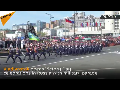 Vladivostok Celebrates Victory Day
