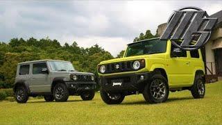 🔴 2019 Suzuki Jimny and Jimny Sierra Colors -  First Look | Best Car - Motorshow