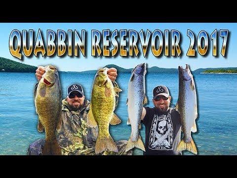 2017 Quabbin Reservoir Fishing
