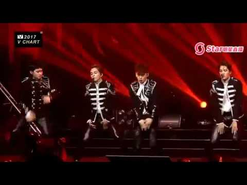170408 EXO - Monster - Lotto at V Chart Awards