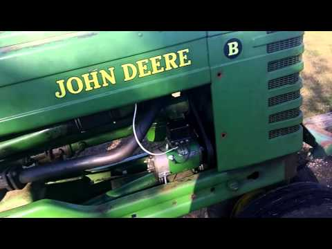 1951 john deere b generator installed and working! - youtube  youtube