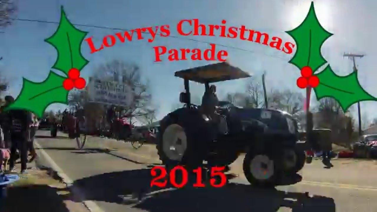 Start Time Of 2020 Lowrys Christmas Parade Lowrys Christmas Parade 2015 time lapse   YouTube