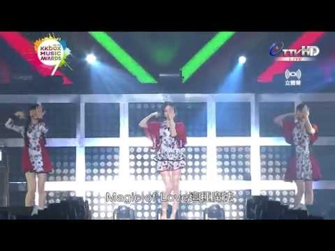 Perfume - Magic of Love (The 9th KKBOX Music Awards)