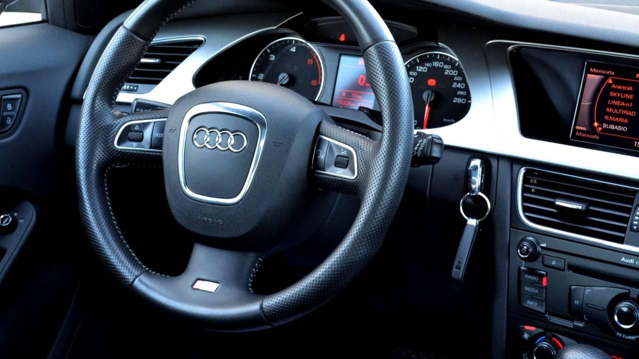 eurp-1203-03%2B2008-audi-a3-2-0t%2Binterior 2008 Audi A4 2.0 T