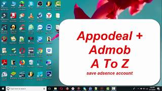 How to create account appodeal + admob asve adsense account appodeal monetize your apps