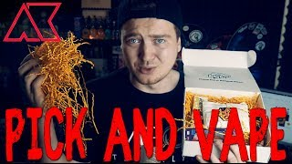 Pick & Vape | Сервис жидкостей по подписке by ViVA la Cloud | Pick and Vape