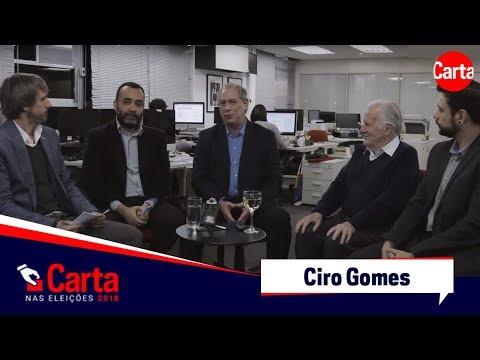Ciro Gomes fala sobre eleições 2018 e estratégia do PT com Lula