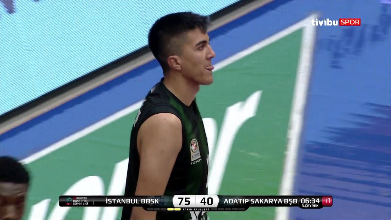 Maç Özeti:İstanbul BBSK - Adatıp Sakarya BŞB Basketbol