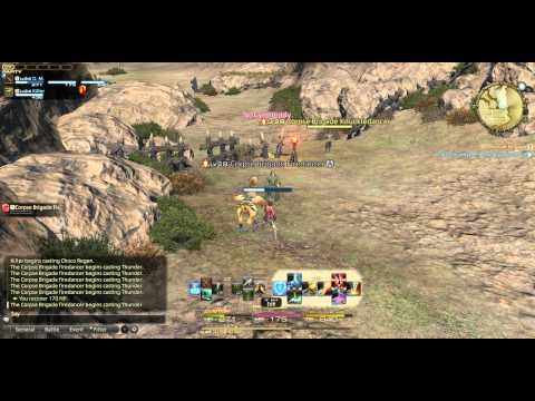 FFXIV Hunting Log - Corpse Brigade Firedancer