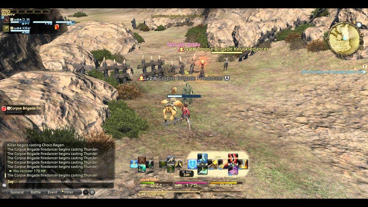 FFXIV Hunting Log - Corpse Brigade Firedancer by krillis0n