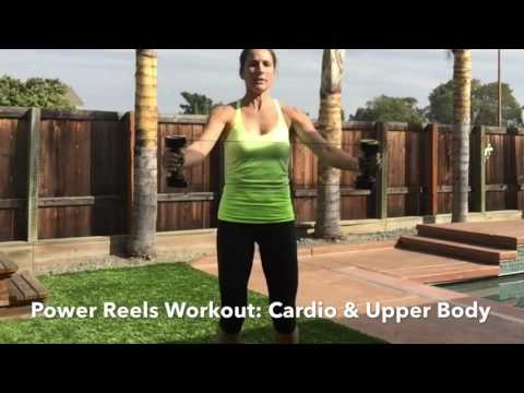 Power Reels Cardio & Upper Body Workout At Home With DeAnn