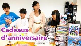 OUVERTURE CADEAUX D'ANNIVERSAIRE JadeStar 13 ans   figurines, manga, feutres promarker, tablet wacom