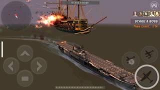 WARSHIP BATTLE  Enterprise kill boss