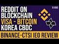 CZ Binance about Bitcoin 比特币 AIR-DROP & Halving - Binance 币安 Cloud Launch News