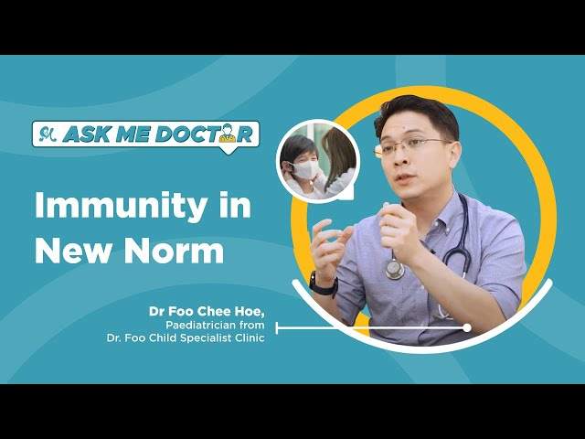 Keeping Our Children's Immunity Strong In The New Normal | Ask Me Doctor Season 2