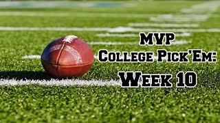 2016 College Football Week 10 Picks