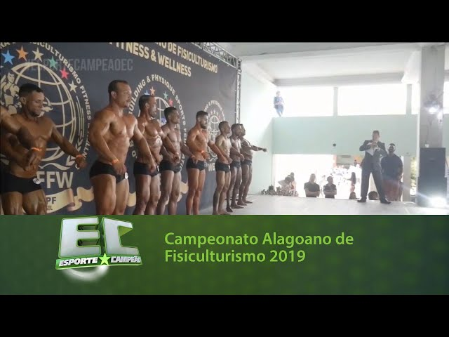 Campeonato Alagoano de Fisiculturismo 2019