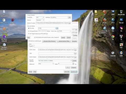 Megui 3.5.0 : encode +ghép phụ đề vào video