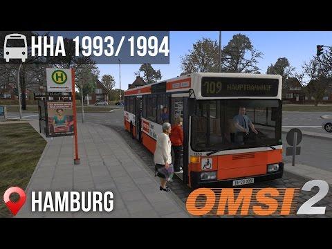 OMSI 2 - Hamburg, Line 109, Hamburg Citybus HHA 93/94 (Solo)