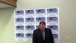 Jamey Blubaugh for Senate Kickoff Speech