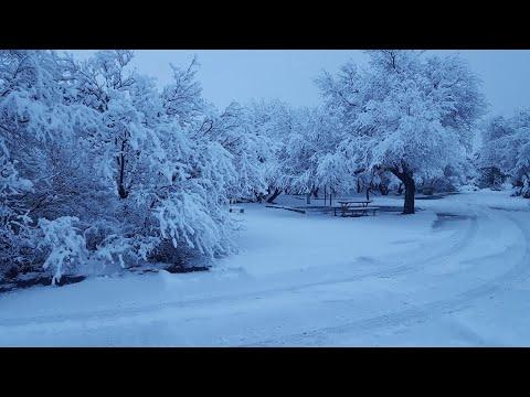 Snowpocalypse In Cottonwood, AZ