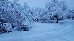 Snowpocalypse in Cottonwood, AZ