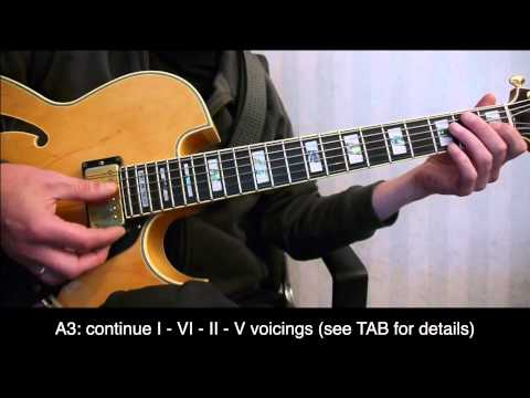 Blue Moon - Voicings for I-VI-II-V turnarounds