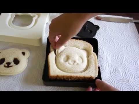 Panda Shaped Sandwich - Easy & Cute