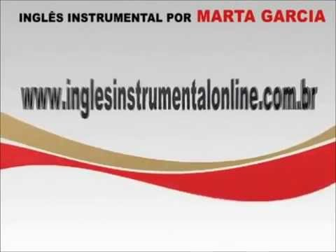 INGLÊS INSTRUMENTAL, por Marta Garcia. - Disclose Education Channel.