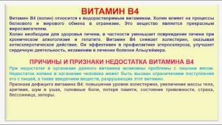видео Классификация и характеристика витаминов