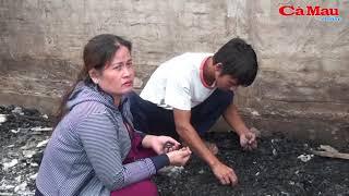 U Minh: hỏa hoạn thiệu rụi 1 căn nhà