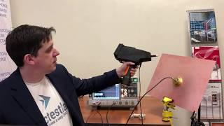 R&S RTO1044 для ЭМС и аттестации генератора ЭСР EDS20H 3CTEST