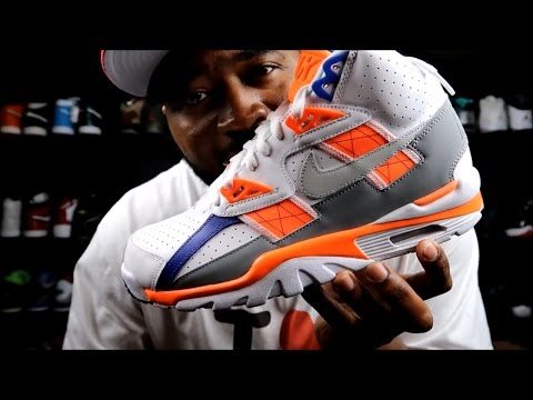 NIKE TRAINER SC HIGH A.K.A. BO JACKSON'S REVIEW AND ON FOOTZ!!!!