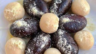 পারফেক্ট মিষ্টির দোকানের সাদা মিষ্টি ও কালো মিষ্টি/Sada mishti & kalo misti/Bangladeshi Sweet Recipe