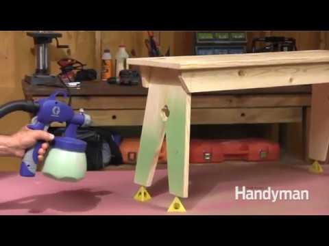 How to Use a HVLP Sprayer