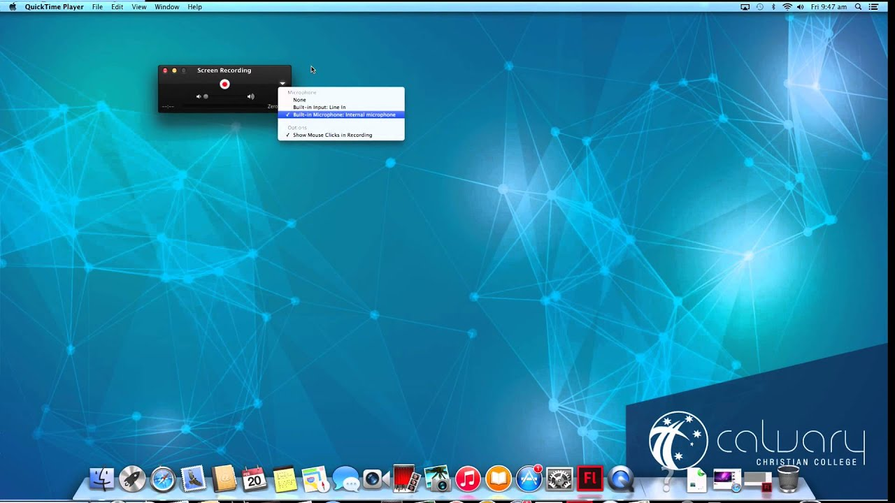 How To Screen Capture With Audio On Mac 1095 Os