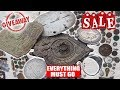 Sale   Giveaway  All My Metal Detecting Finds Must Go