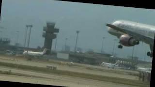 Boeing 757-200 landing RW 25R in LEBL VIM Airlines