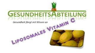 Liposomales Vitamin C selber herstellen - Teil 1 - Der Versuch