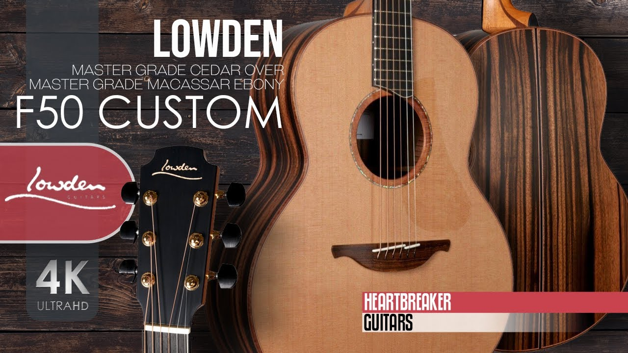 Lowden F50 Custom with Cedar over Macassar Ebony