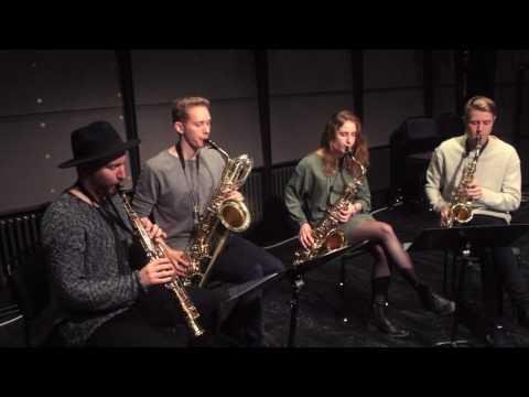 Rockabye – EdiSax Quartet Saxophone Cover