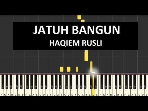 Haqiem Rusli - Jatuh Bangun [Instrumental Piano Cover]