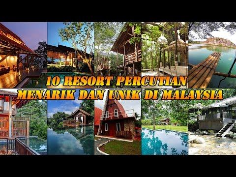 10 Resort Percutian Menarik dan Unik di Malaysia