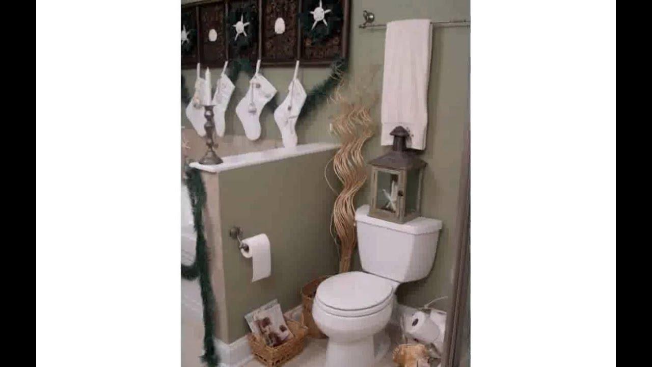 Small Bathroom Decor Ideas - YouTube