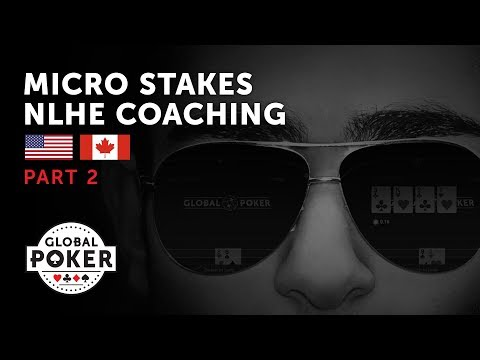 Expert Micro Stakes Poker Coaching Part 2/4