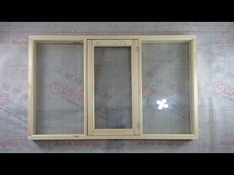 ✅ Окно из дерева своими руками  Diy Window Fenster Holzfenster